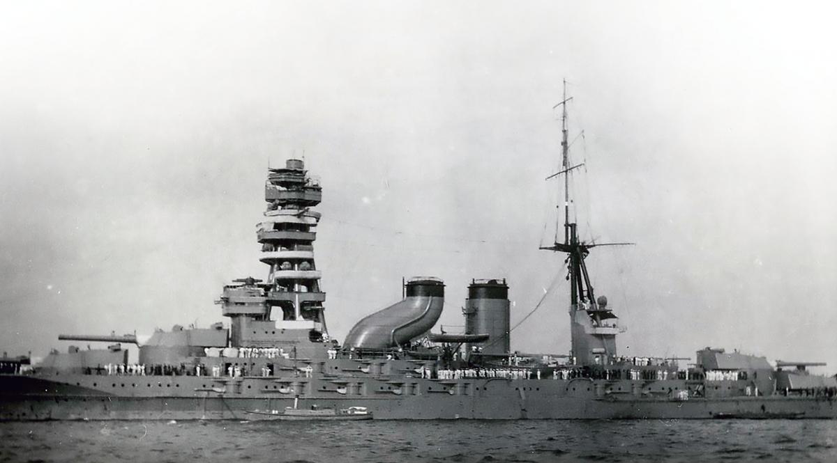 戦艦「長門」