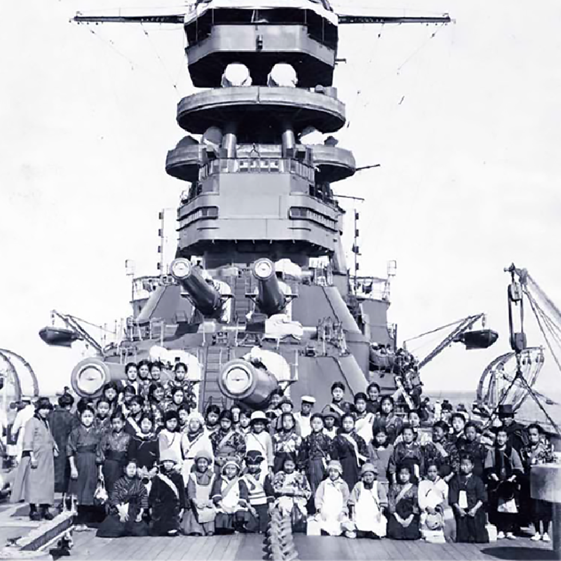 戦艦「長門」と日本海軍