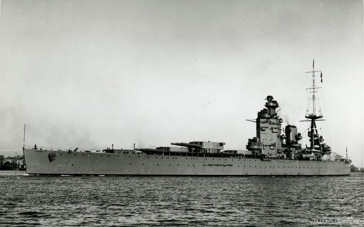 戦艦「ネルソン」