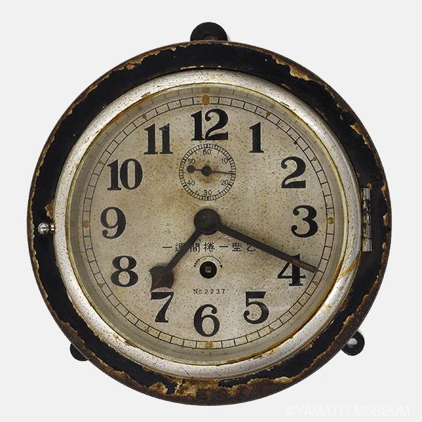「長門」の艦内時計