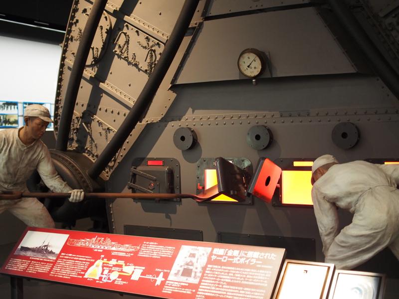 戦艦「金剛」に搭載されたヤーロー式ボイラー