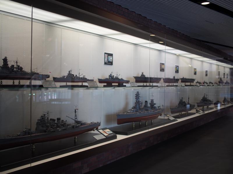特別展示室(艦艇模型)