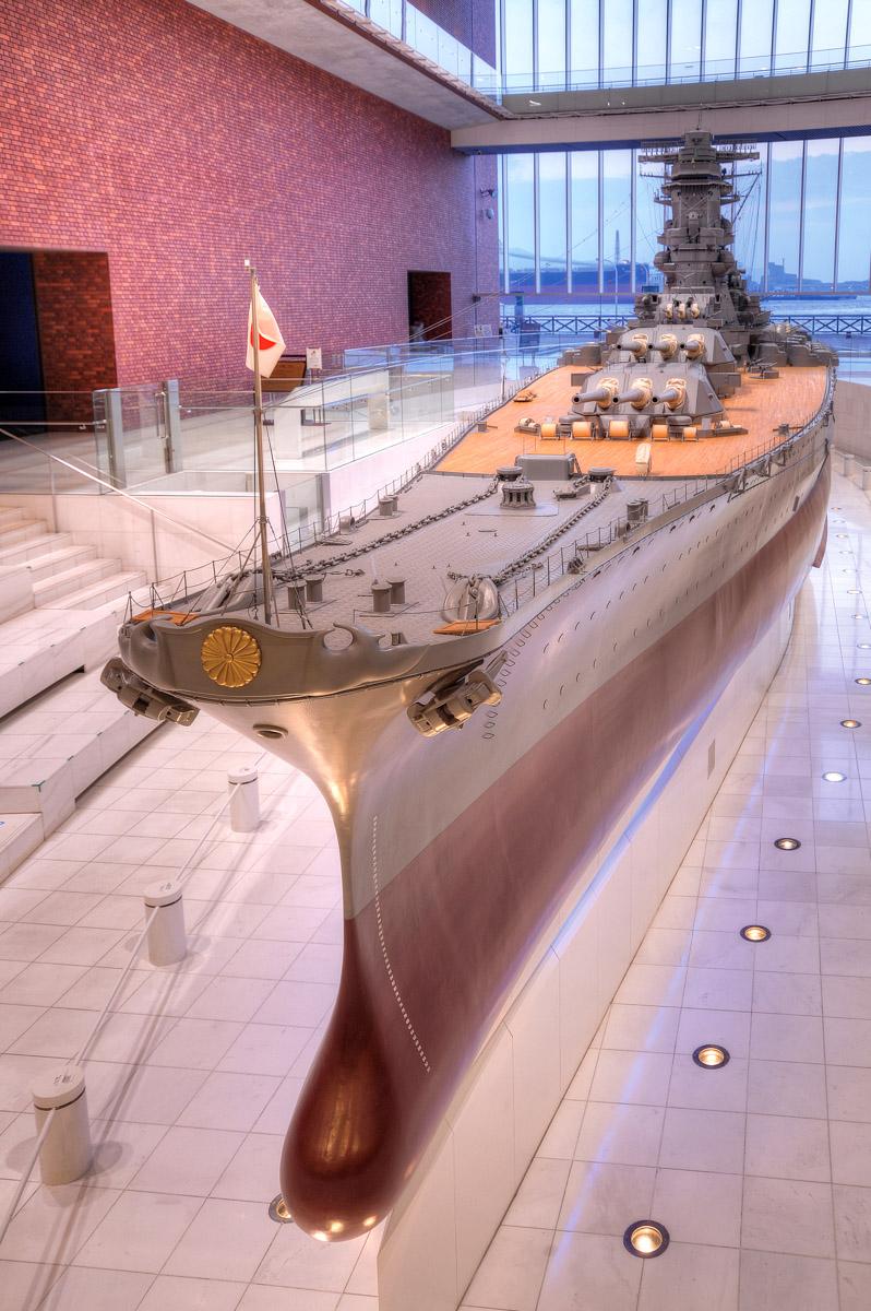 10分の1戦艦「大和」